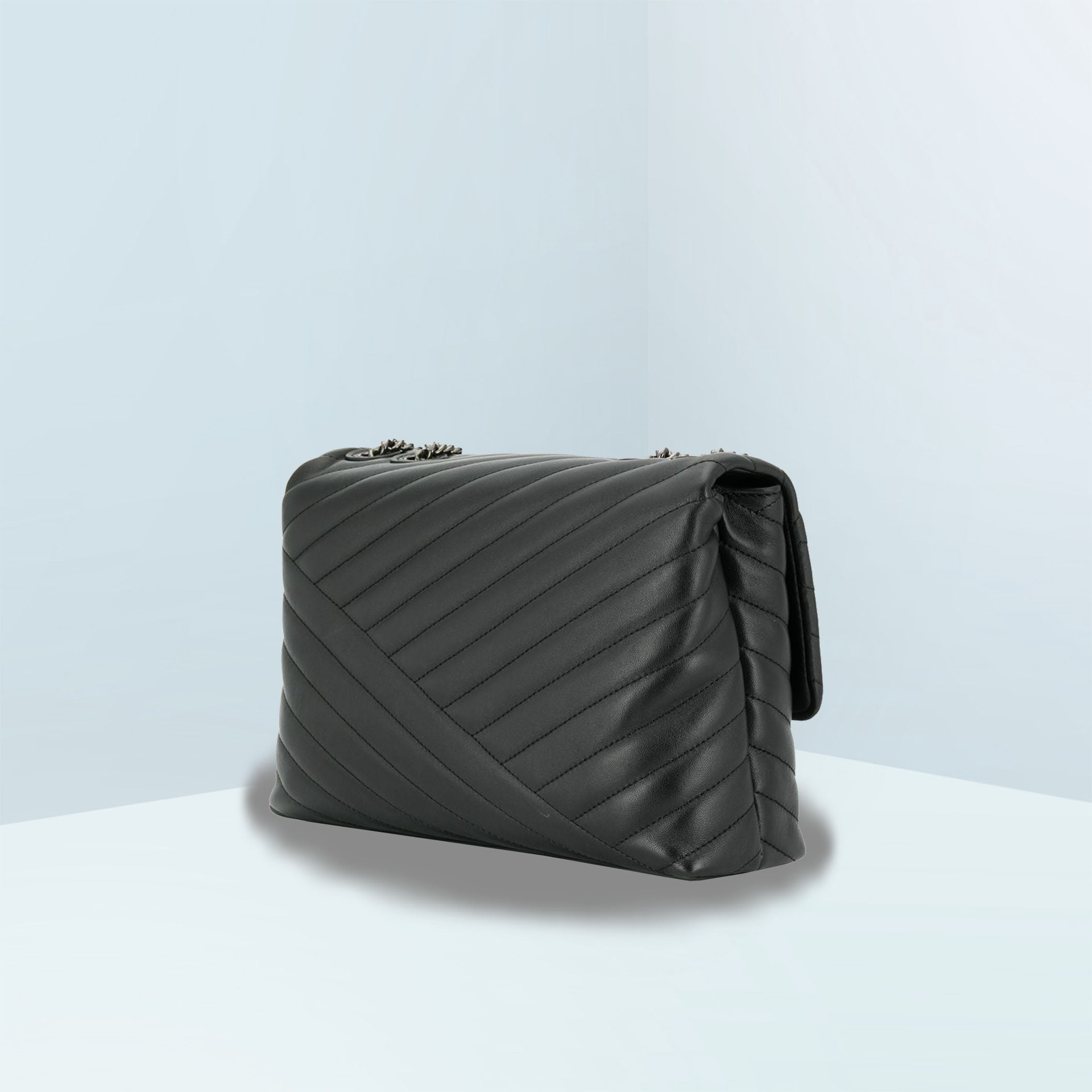Kira Chevron Convertible Crossbody Bag