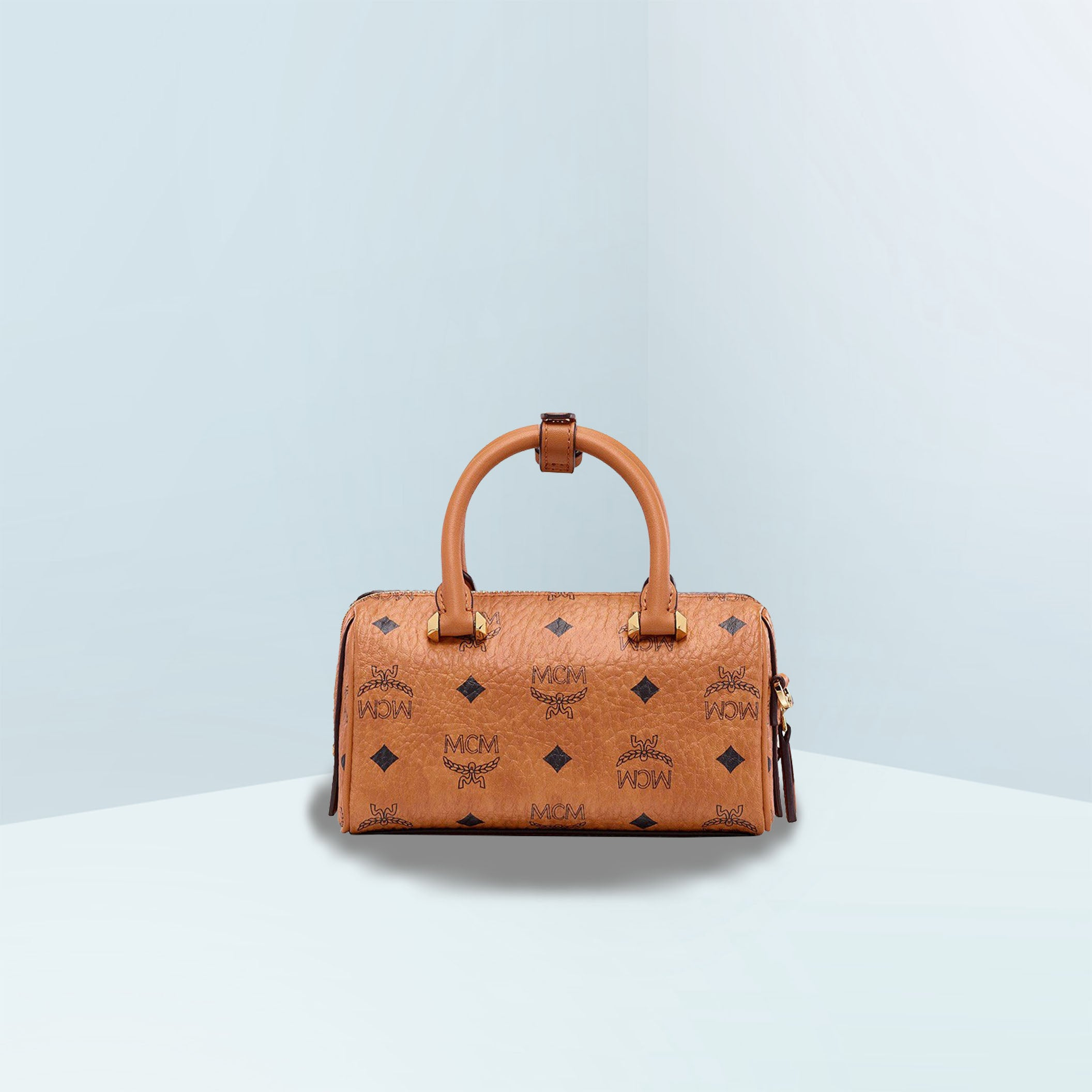 Essential Boston Cognac Crossbody Bag