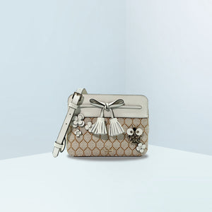 Hayes Bee Embellished Camera Bag
