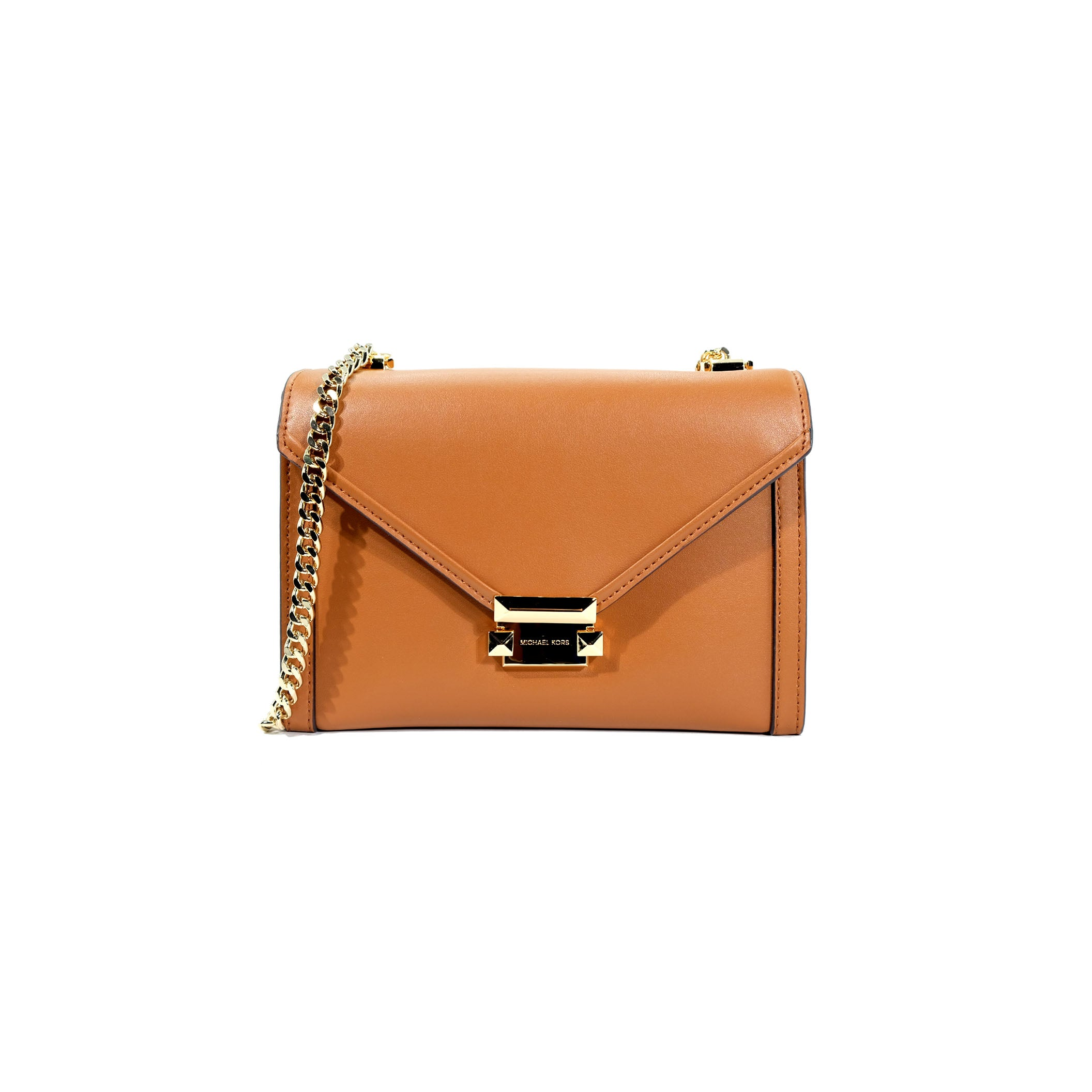 Whitney Leather Convertible Shoulder Bag