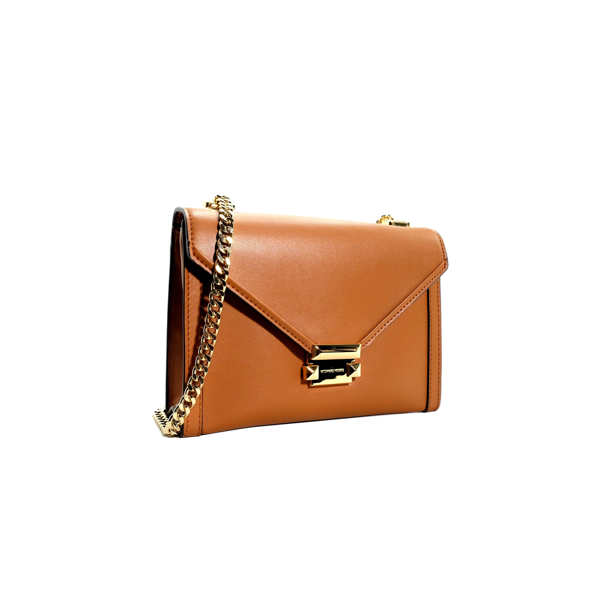 Whitney Leather Convertible Crossbody Bag