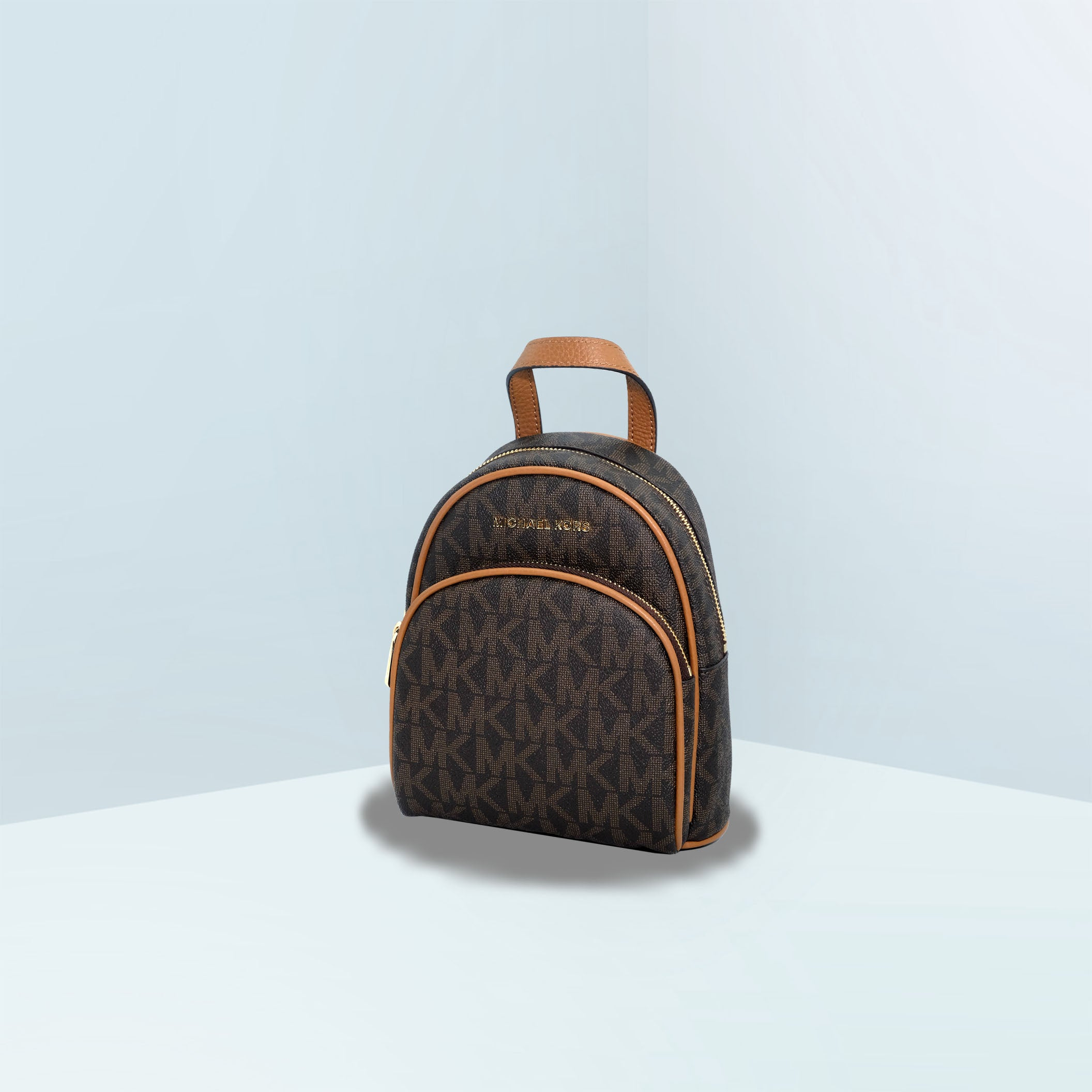 Abbey Mini Logo Canvas Backpack