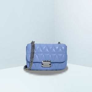 Sloan Small Quilted Leather Convertible Crossbody Bag