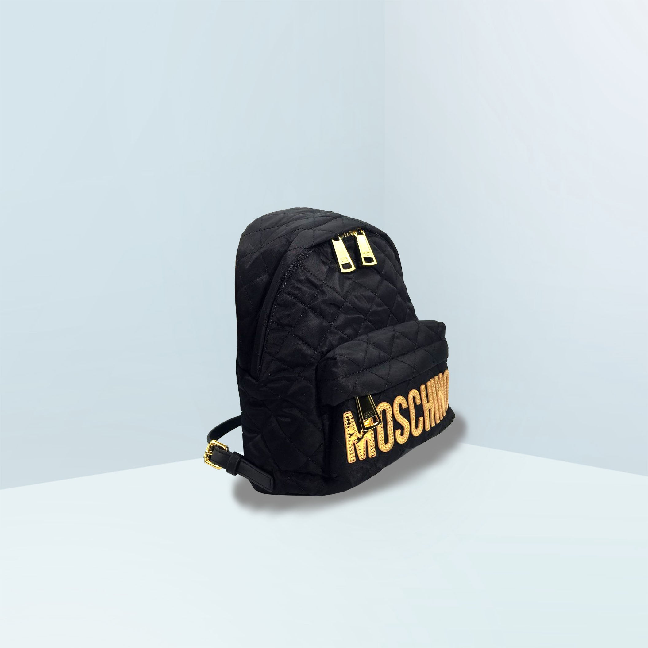 Medium Quilted Backpack