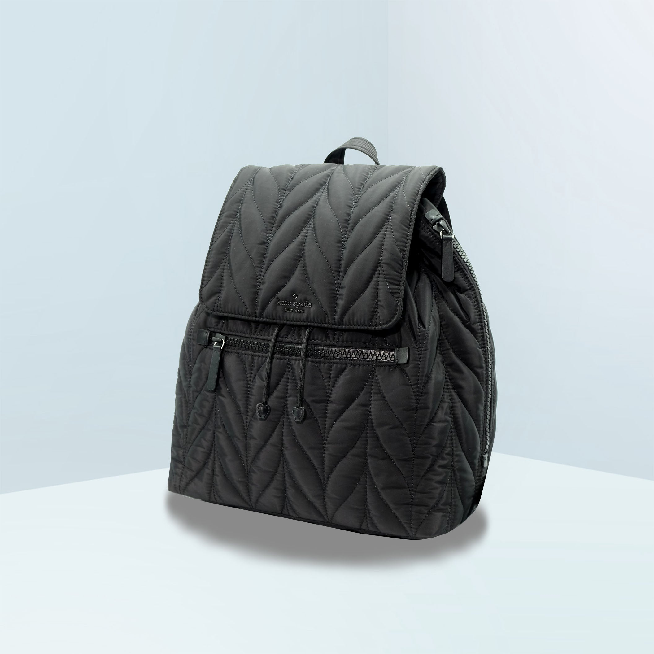 Ellie Large Flap Quilted Backpack