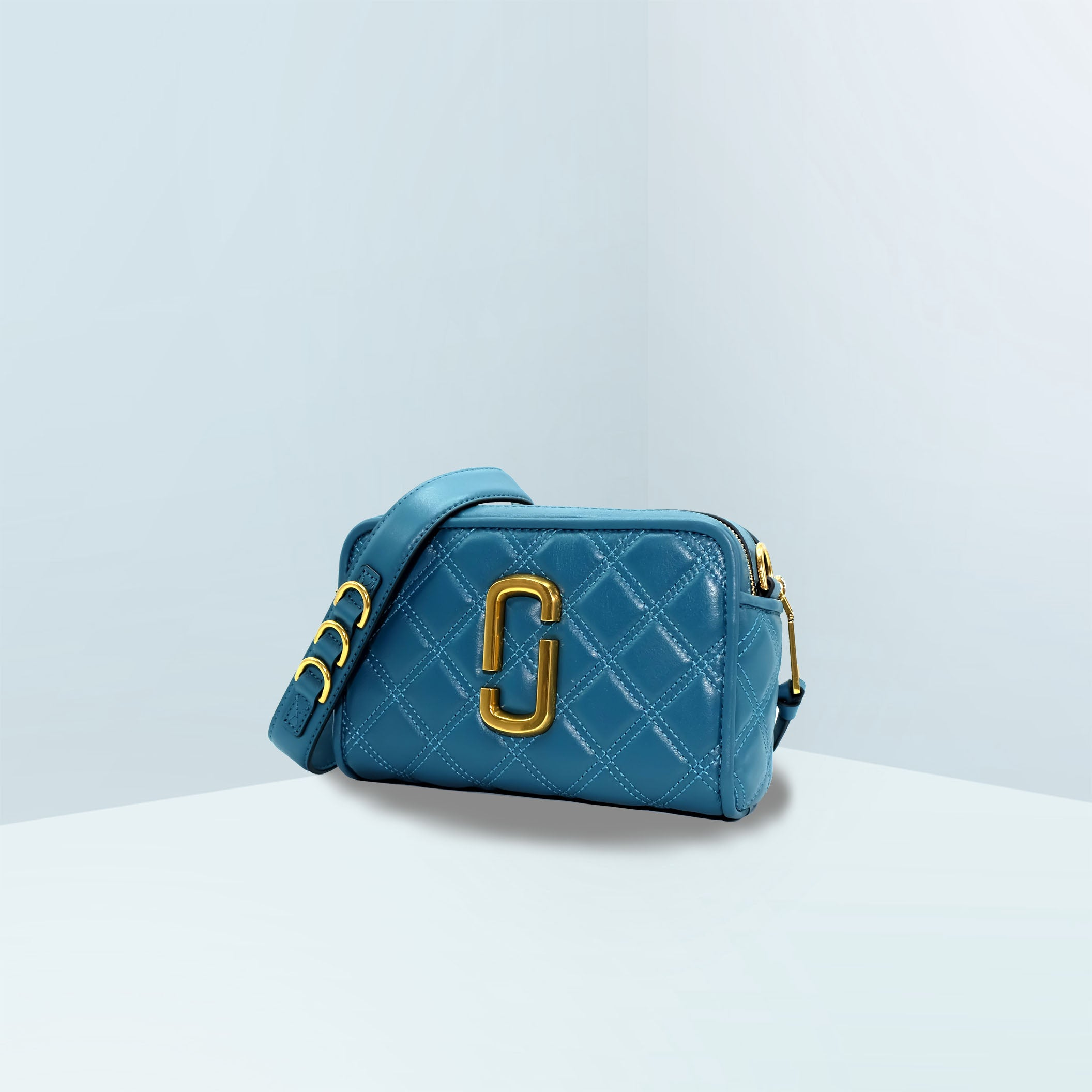 The Quilted Softshot 21 Crossbody Bag