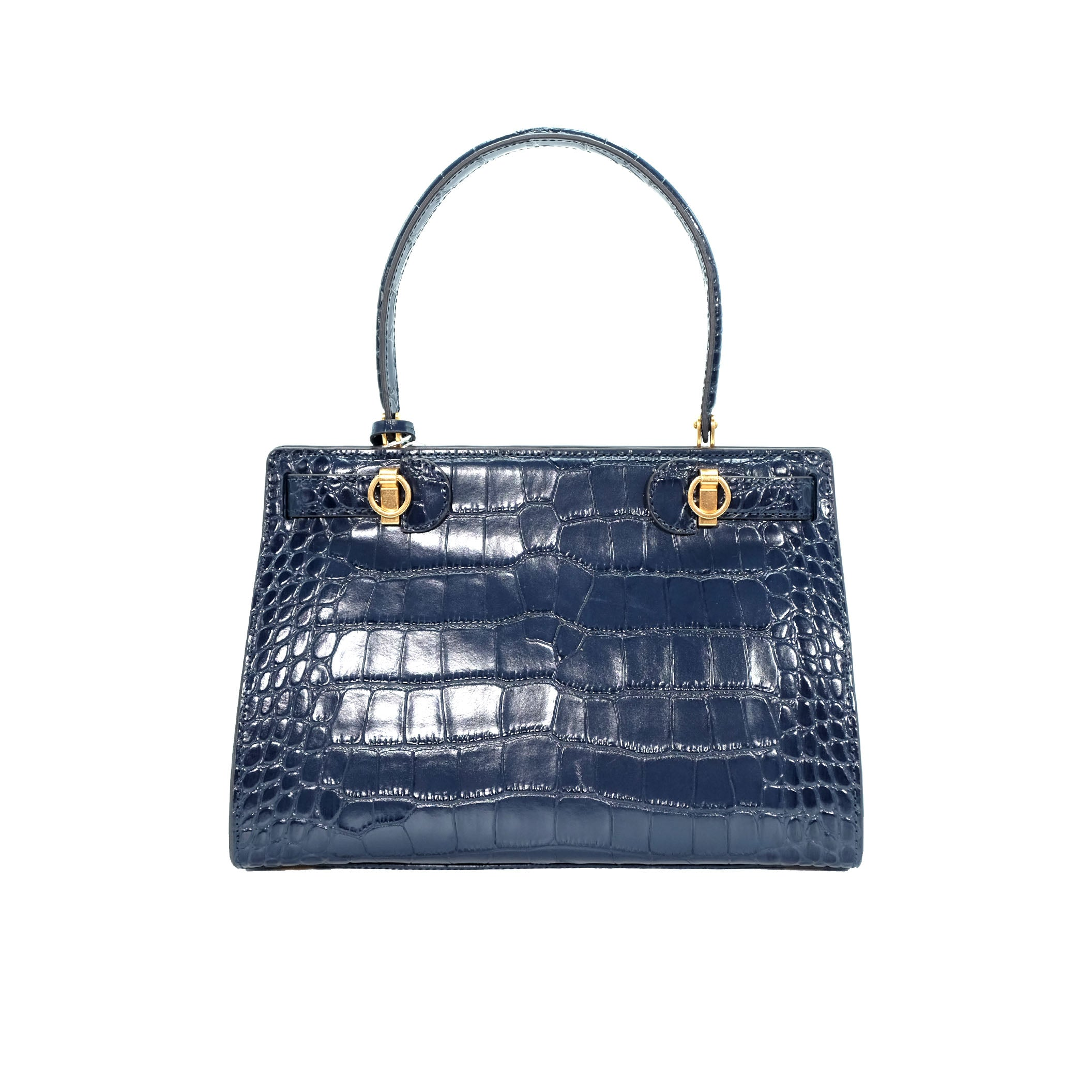 Lee Radziwill Croc Embossed Small Bag