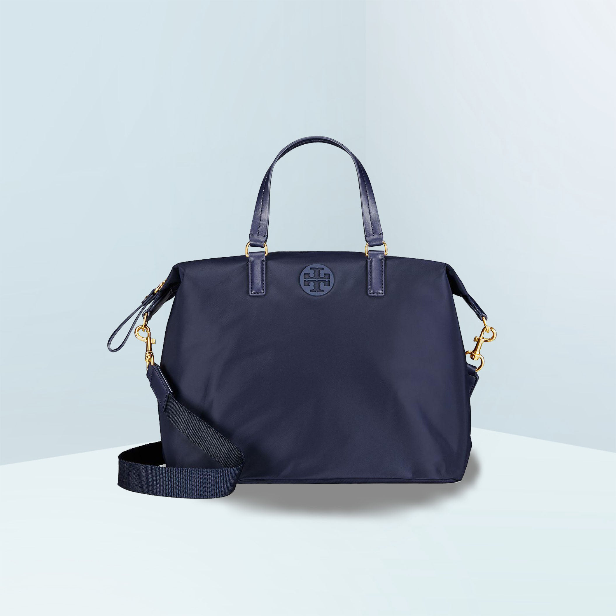 Tilda Slouchy Nylon Satchel Bag