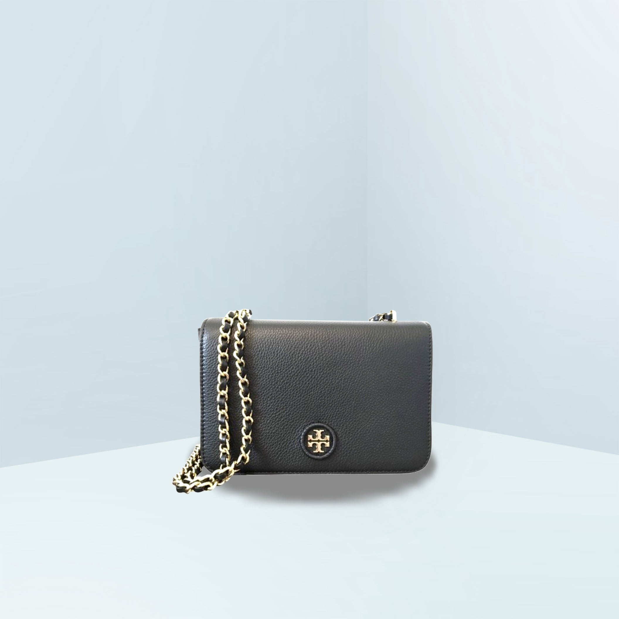 Whipstitch Logo Adjustable Chain Crossbody Bag