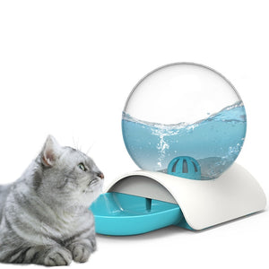 Bubble Automatic Cat Water Fountain For Pets Water Dispenser for cat puppy Drinking Bowl Cat Drink 2.8L - Petgo Wholesale
