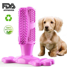 Load image into Gallery viewer, Dog Toothbrush Stick Pets Brushing Stick Dog Teeth Cleaning Chew Toy Teddy Teeth Silicone Perfect Care Products Cleaning Mouth - Petgo Wholesale