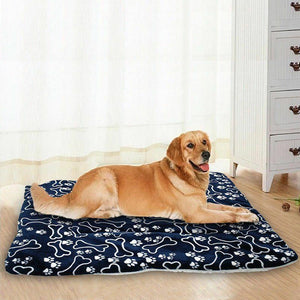 2019 Newest Hot Large Soft Warm Dog Cat Pet Mat Bed Pad Self Heating Rug Thermal Washable Pillow Pet Supplies - Petgo Wholesale