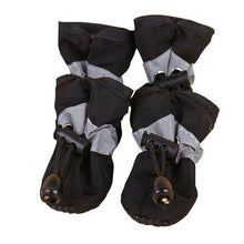 Load image into Gallery viewer, 4 Pcs/Set Lovely Non-slip Solid Waterproof Rain Boots Autumn Winter Dogs Paws Soft Shoe Portable Pet Dog Shoes Cover@LS - Petgo Wholesale