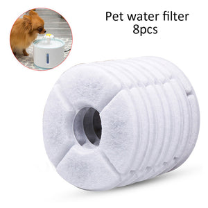 Electric USB Dog Cat Mute Drinker With LED Light Pet Drinking Fountain Dispenser Automatic Pet Cat Water Fountain Feeder Bowl - Petgo Wholesale