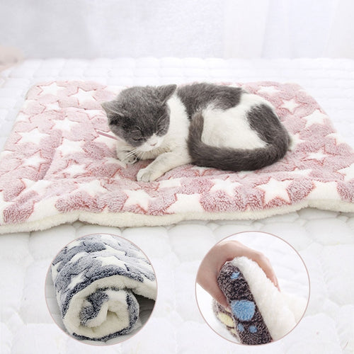 2019 Washable Bed Puppy Cushion House Soft Warm Large Pet Dog Cat Kennel Mat Blanket Cushions Mattress Kennel Soft Crate Mats - Petgo Wholesale