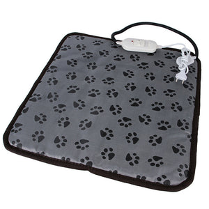 Benepaw Adjustable Heating Pad For Dog Cat Puppy Power-off Protection Pet Electric Warm Mat Bed Waterproof Bite-resistant Wire - Petgo Wholesale