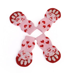 2018 NEW Pet Cat Socks Creative Cat Coats Dog Socks Traction Control For Indoor Wear L/M/S Cat Clothing Multicolor S M L - Petgo Wholesale