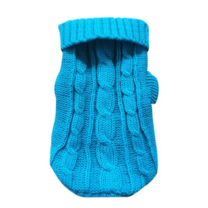 Pet Dog Cat Clothes Warm Cat Knitted Sweater For Cats Jumper Puppy Pug Coat Clothes Pullover Knitted Shirt Kitten Clothes 35 - Petgo Wholesale