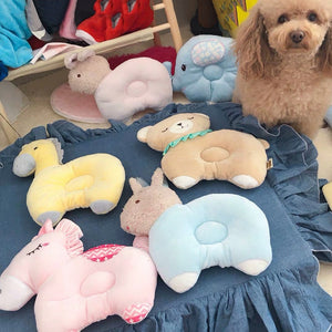 Pet Dog Pillow Animal Shape Pets Mat House Sofa Kennel Square Pillow Pet Supplies for Medium Small Dogs - Petgo Wholesale