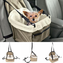 Load image into Gallery viewer, Travel Dog Car Seat Cover Folding Hammock Pet Carriers Bag Carrying Doghouse For Cats Dogs transportin perro autostoel hond Hot - Petgo Wholesale