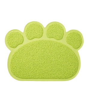 Pet Feeding MAT Small Dog/Puppy/Cat/Kitten Feeding/Food Mat Dish/Bowl Place Mat - Petgo Wholesale