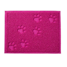 Load image into Gallery viewer, Pet Feeding MAT Small Dog/Puppy/Cat/Kitten Feeding/Food Mat Dish/Bowl Place Mat - Petgo Wholesale