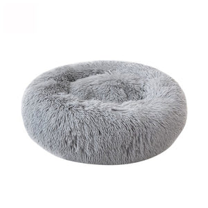 Soft Warm Round Pet Cat Bed Comfortable Pet Nest Dog Cat Washable Kennel Easy To Clean Dog Bed Warm House For Pet - Petgo Wholesale