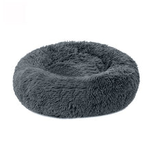 Load image into Gallery viewer, Soft Warm Round Pet Cat Bed Comfortable Pet Nest Dog Cat Washable Kennel Easy To Clean Dog Bed Warm House For Pet - Petgo Wholesale
