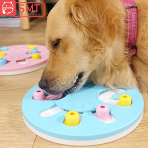 Dog Puzzle Toys Increase IQ Interactive Pet Slow Dispenser Feeding Bowl Pet Dog Training Game Feeder For Small Medium Dogs