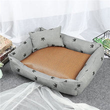 Load image into Gallery viewer, Dog Beds Mats Comfort Print Crown Puppy Pet Mat Bed Warm Cotton Cat Beds For Chihuahua Dog Beds For Dogs 2019 - Petgo Wholesale