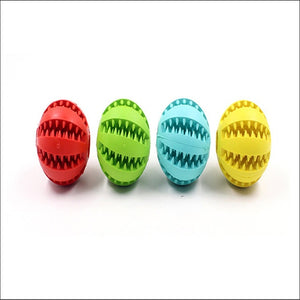 Watermelon leaking food ball pet dog toy dog rubber leaking device dog teeth cleaning toothbrush - Petgo Wholesale