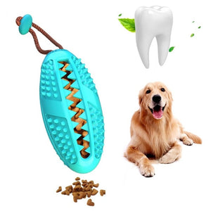 Pet Dog Toys Toy Funny Interactive Elasticity Ball Dog Chew Toy For Dog Tooth Clean Ball Of Food Extra-tough Rubber Ball - Petgo Wholesale