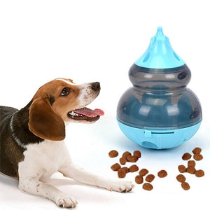 Interactive Dog Toys IQ Food Ball Toy Tumbler Gourd Cat Playing Toys Treat Ball Shaking For Dogs Increases