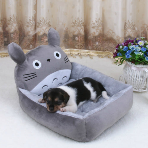 6 Colors Joy Cute Animal Cat Dog Pet Beds Mats Teddy Dogs Sofa Pet Bed House Big Blanket Cushion Basket Supplies Cartoon - Petgo Wholesale