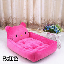 Load image into Gallery viewer, 6 Colors Joy Cute Animal Cat Dog Pet Beds Mats Teddy Dogs Sofa Pet Bed House Big Blanket Cushion Basket Supplies Cartoon - Petgo Wholesale