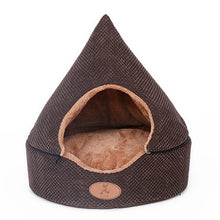 Load image into Gallery viewer, HOOPET Pet Dog Bed Cat Tent Dog House All Seasons Bed for dogs Dirt-resistant Soft Yurt Bed with Double Sided Washable Cushion - Petgo Wholesale