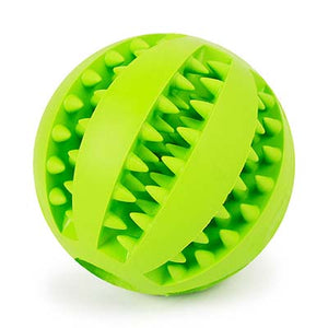 Pet Toy Puppy Small Large Dog Toys Balls Rubber Durable Tough IQ Toys for Pet Tooth Cleaning Chewing Playing Treat Dispensing