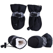 Load image into Gallery viewer, Pet Winter Warm Soft Cashmere Anti-skid Rain Shoes For Dog Pet Supplies 2018 - Petgo Wholesale