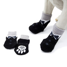 Load image into Gallery viewer, Winter Warm Pet Dog Cat Knitted Shoes Indoor Thick soft bottom Cotton Shoes for Small Dogs Cats Anti-Slip Pet Socks Pet Supplies - Petgo Wholesale