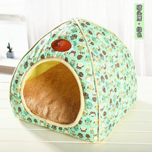 Load image into Gallery viewer, Dog Bed Mat Kennel Soft Dog Puppy Cats Winter Warm Bed Sleeping House for Dogs Nest Sofa Pet Kennel House Mat Chihuahua Bed - Petgo Wholesale