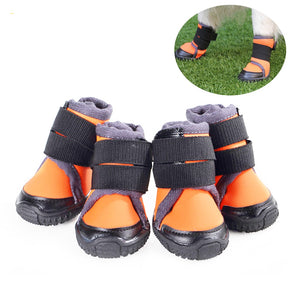 Breathable Dog Hiking Shoes dog boots for Hot & Sharp Pavement Pet Paws Protector Anti-Skid Dog Boots Durable Pet Hiking Shoes - Petgo Wholesale