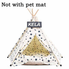 Load image into Gallery viewer, JORMEL Pet Tent Dog Bed Cat Toy House Portable Washable Pet Teepee Stripe Pattern  Fashion 2019 Not Included Mat - Petgo Wholesale