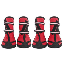 Load image into Gallery viewer, 4 Pc/ Set Pet Waterproof Rain Shoes For Medium Large Dogs Multi Colors Optional Dog Rain Boots - Petgo Wholesale