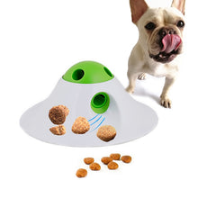 Load image into Gallery viewer, Pet Dog Leaking Food Toy PBA Free UFO Design Interactive Dog Toys Dog Food Dispensing Toys Fun Puzzle Ball Treat Exercise IQ