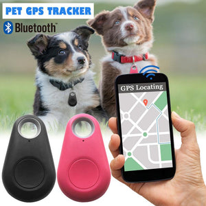 New Pet Smart Bluetooth Tracker Dog GPS Camera Locator Dog Portable Alarm Tracker For Keychain Bag Pendant - Petgo Wholesale