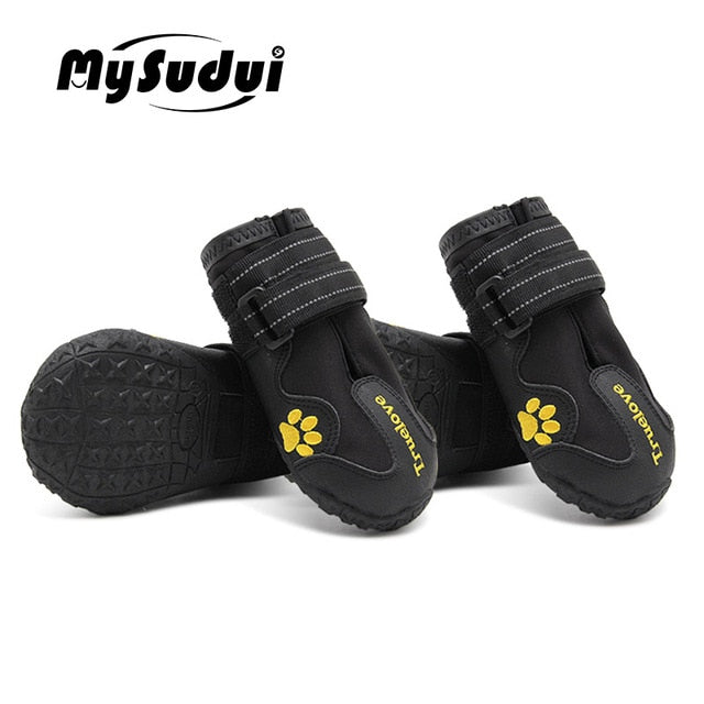 Truelove Waterproof Dog Shoes For Dogs Winter Summer Rain Snow Dog Boots Sneakers Shoes For Big Dogs Husky Outdoor Buty Dla Psa - Petgo Wholesale