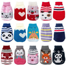 Load image into Gallery viewer, Winter Cartoon Cat Clothes Warm Christmas Cat Sweater For Small Dogs Clothes Pet Clothing Dog Coat Jacket Kitty Ropa Para Perros - Petgo Wholesale