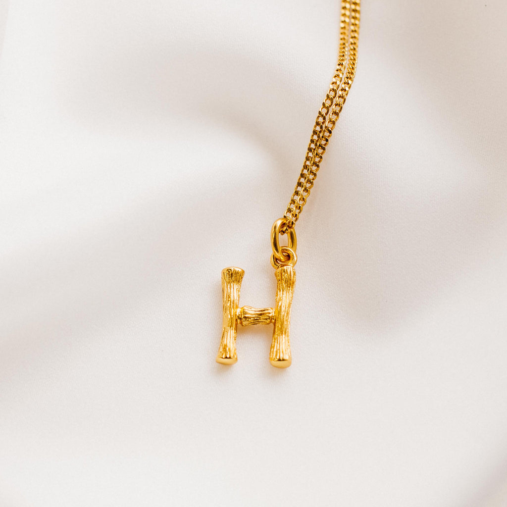Vintage Mini Alphabet Necklace