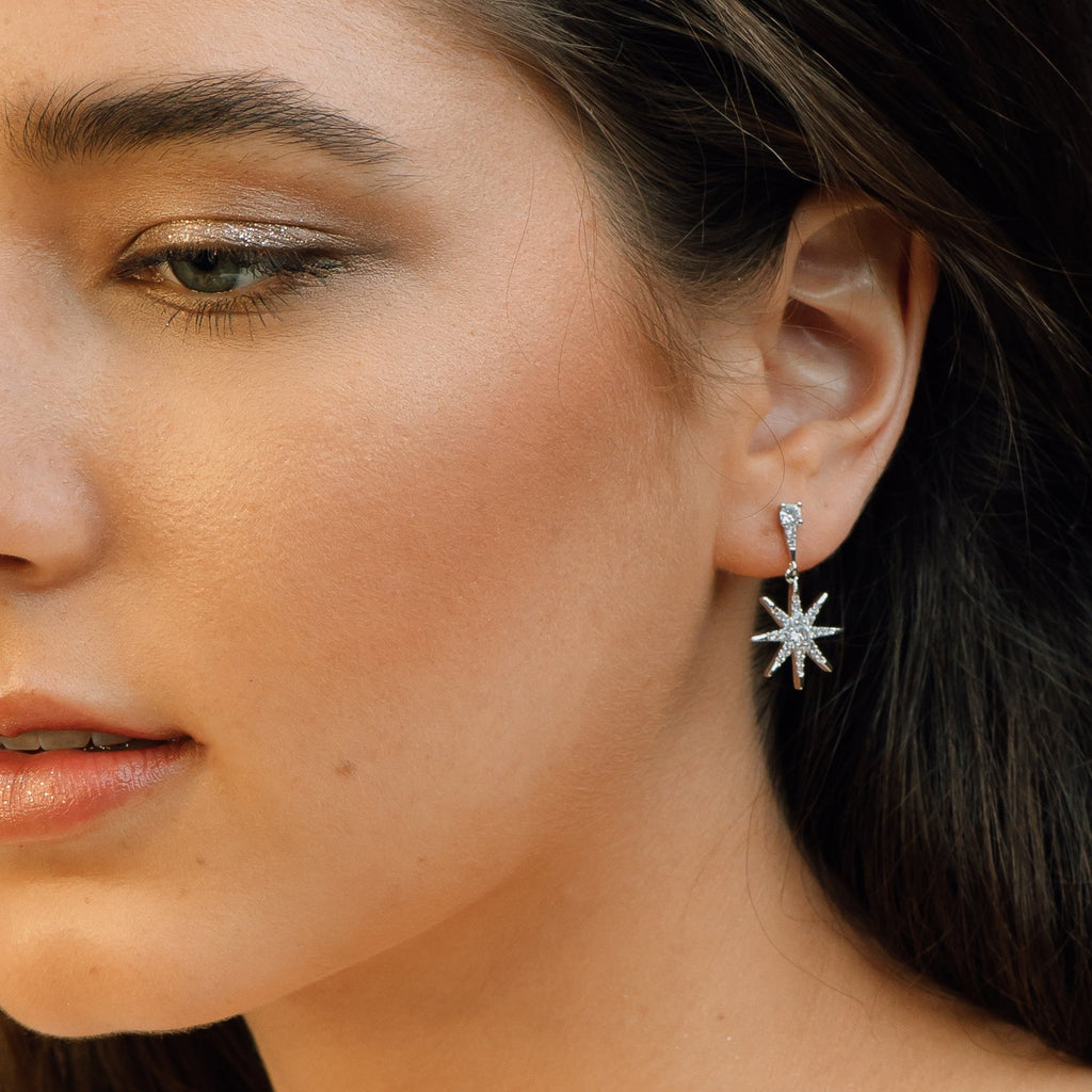 Star Crystal Earrings - Keri