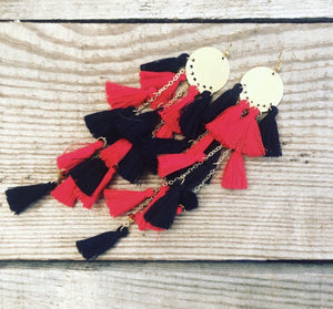 Dangle Tassel Earrings (More colors available)